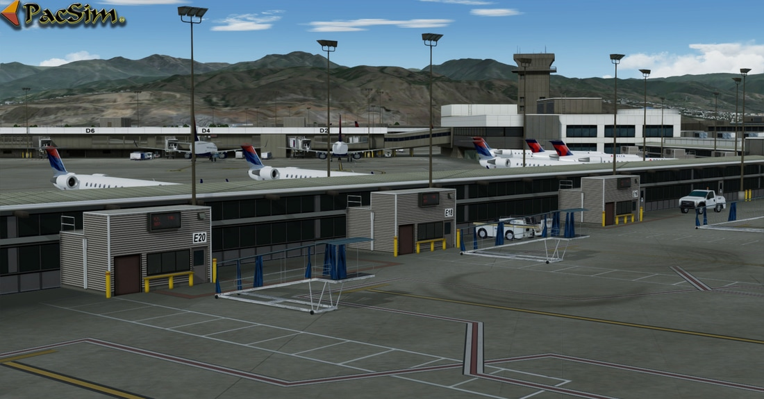 Salt Lake City Int - Scenes for pilots who deviate from the